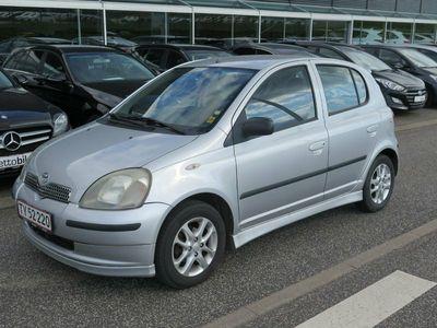 brugt Toyota Yaris 1,3 VVT-i Sol