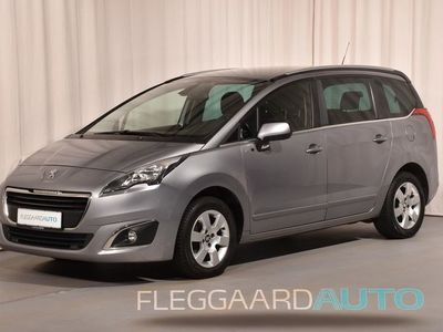 brugt Peugeot 5008 1,6 HDI Style 7-pers 114HK