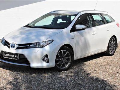 gebraucht Toyota Auris 1,8 VVT-I H2+ E-CVT 136HK Stc Aut.