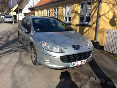 brugt Peugeot 407 1.6 109 HK Premium