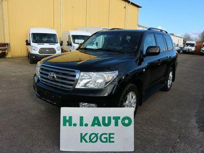 brugt Toyota Land Cruiser 4,5 V8 D-4D aut. Van