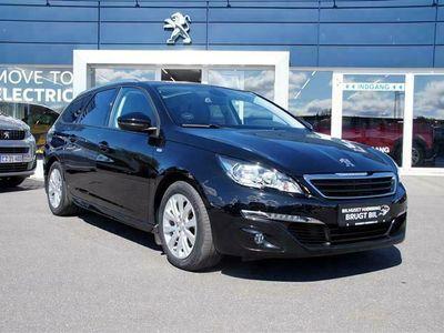 brugt Peugeot 308 SW 1,6 BlueHDi Desire Sky 120HK Stc
