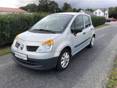 brugt Renault Modus 1,4 16V Comfort Authentique 98HK 5d
