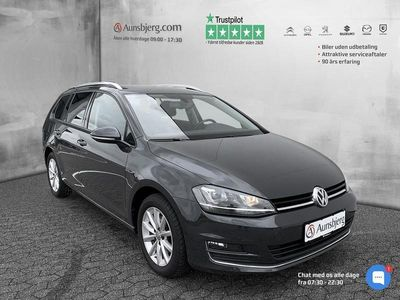 brugt VW Golf 1,6 TDI BMT Lounge 110HK Stc