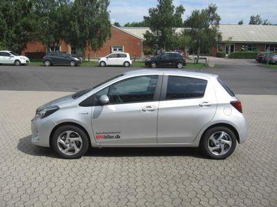 brugt Toyota Yaris Hybrid 1,5 B/EL Hybrid Premium 100HK 5d