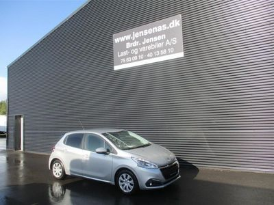 brugt Peugeot 208 1,6 BlueHDi Active 100HK 5d 6g 2017