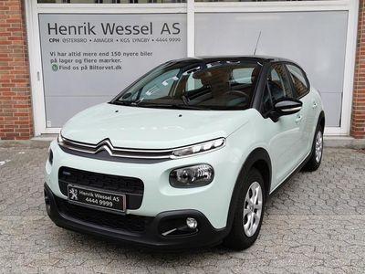 brugt Citroën C3 1,2 PureTech Extravaganza start/stop 110HK 5d A+