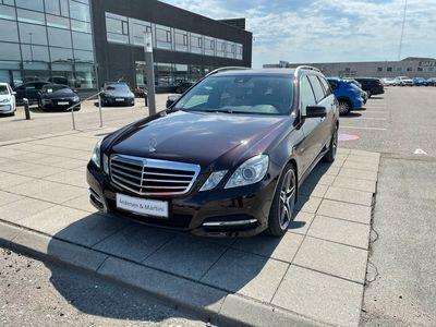 brugt Mercedes E220 T 2,2 CDI BlueEfficiency 170HK Stc 7g Aut.