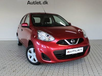brugt Nissan Micra 1,2 Visia