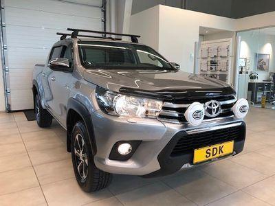 brugt Toyota HiLux 2,4 D-4D T3 4x4 150HK DobKab
