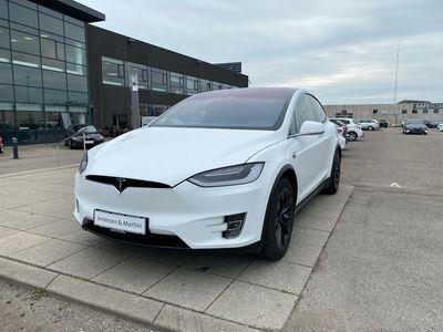 brugt Tesla Model X 75D el EL AWD 333HK 5d Aut.