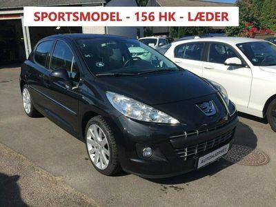 brugt Peugeot 207 1,6 THP 156 Allure
