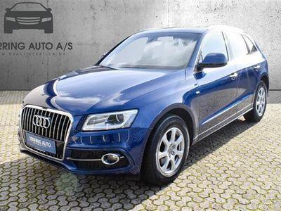 brugt Audi Q5 2,0 TDI S Tronic 190HK 5d Aut. - Personbil - mørkblåmetal