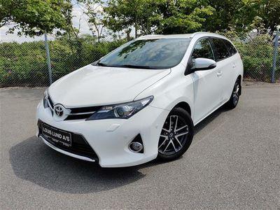 brugt Toyota Auris 1,4 D-4D T2 Premium Comfort 90HK Van