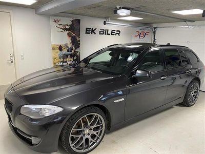 brugt BMW 525 d Touring 2,0 D Steptronic 218HK Stc 8g Aut.