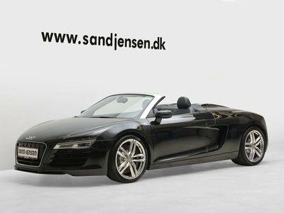 brugt Audi R8 Spyder 4,2 FSi quattro S-tr.