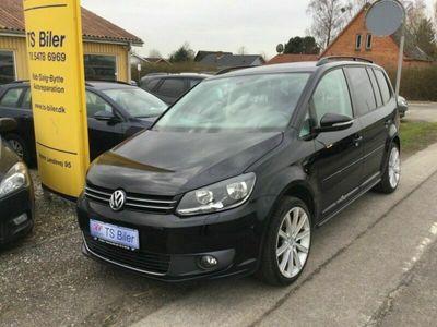 brugt VW Touran 2,0 TDi 140 Comfortline BMT 7prs
