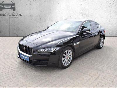 brugt Jaguar XE 2,0 Pure 200HK 8g Aut. - Personbil - sort
