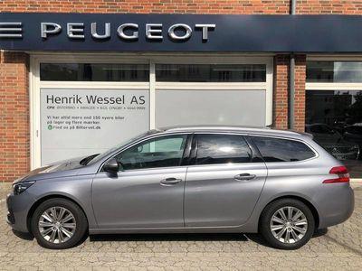 brugt Peugeot 308 SW 1,2 PureTech Selection Sky 130HK Stc 6g A