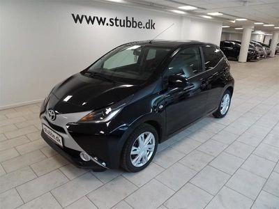 brugt Toyota Aygo 1,0 VVT-I X-Black 69HK 5d A++