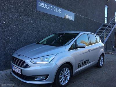 gebraucht Ford C-MAX 1,0 EcoBoost Titanium 125HK 6g