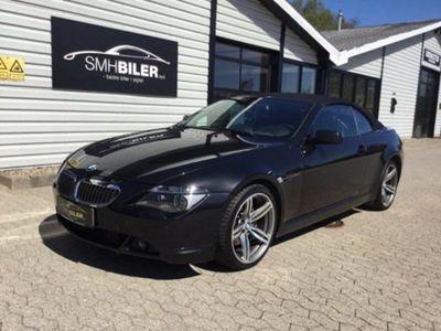 gebraucht BMW 650 Cabriolet i 4,8 aut.
