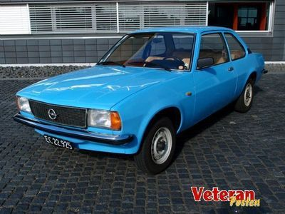 brugt Opel Ascona 1,6N 2dr