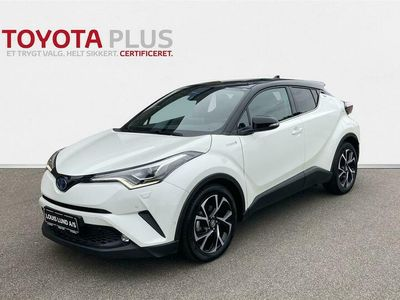 brugt Toyota C-HR 1,8 Hybrid Premium Selected Bi-tone Multidrive S 122HK 5d Aut. A+++