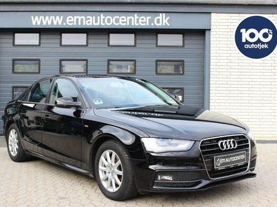 brugt Audi A4 2,0 TDi 136 S-line