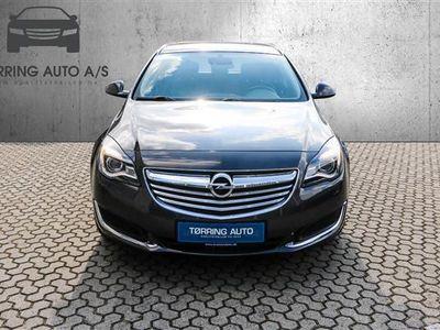 käytetty Opel Insignia 1,4 Turbo Edition Start/Stop 140HK 5d 6g - Personbil - koksmetal