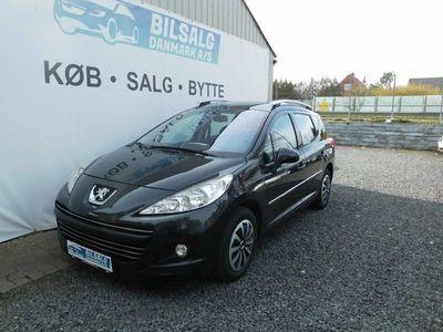 brugt Peugeot 207 1,6 HDi 112 Premium SW