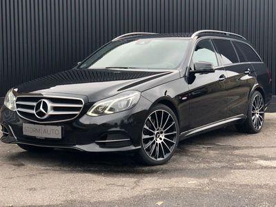 brugt Mercedes E350 0 BlueTEC Edition E stc. aut.