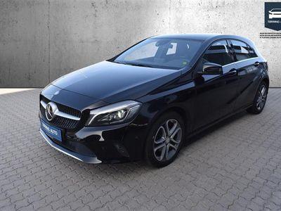 brugt Mercedes A200 1,6 7G-DCT 156HK 5d 7g Aut. - Personbil - Sort