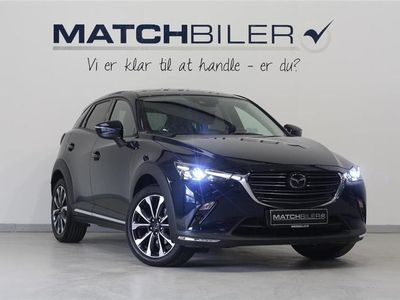 used Mazda CX-3 2,0 Skyactiv-G Optimum 121HK 5d 6g