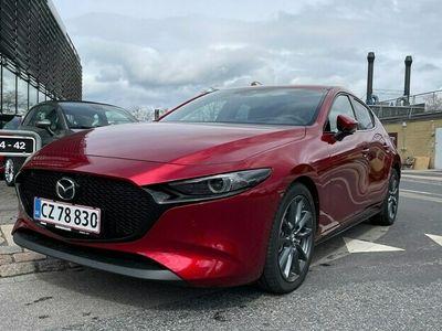 brugt Mazda 3 20 Skyactiv-G Mild hybrid Sky m. Style Pack 150HK 5d 6g