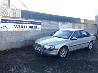 brugt Volvo S80 2,8 T6 272HK Aut.