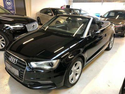 brugt Audi A3 Cabriolet 1,4 TFSi 125 Ambition