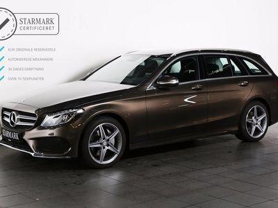 brugt Mercedes C200 BlueTEC AMG Line st.car