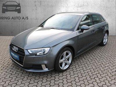 brugt Audi A3 Sportback 1,4 TFSI Sport 150HK Stc 6g - Personbil - gråmetal