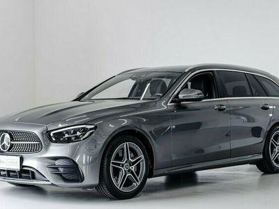 brugt Mercedes E220 AMG Line stc. aut. 2021