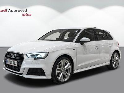 brugt Audi A3 Sportback 35 TFSi Limited+ S-tr.