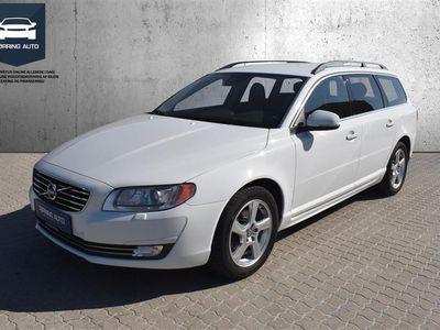 brugt Volvo V70 2,0 D4 Eco Momentum 181HK Stc 6g Aut. - Personbil - Hvid