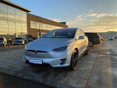 brugt Tesla Model X P90D el EL 7 sæder 772HK 5d