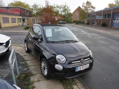 brugt Fiat 500C 1,2 Eco Black Start & Stop 69HK Cabr.
