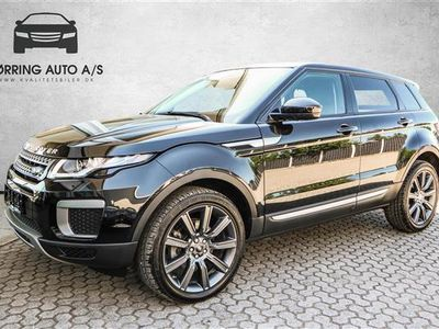 käytetty Land Rover Range Rover evoque 2,0 TD4 Pure 4x4 180HK 5d 9g Aut. - Personbil - Sort