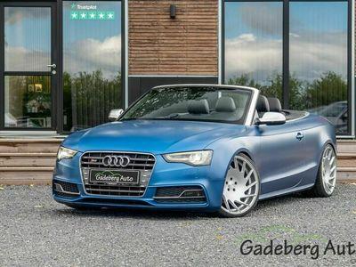 brugt Audi S5 Cabriolet 3,0 TFSi quattro S-tr.