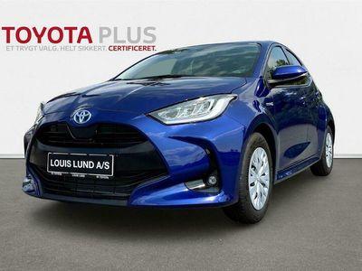 brugt Toyota Yaris 1,5 Hybrid H3 Smart 116HK 5d Trinl. Gear A+++