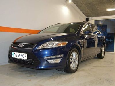 brugt Ford Mondeo 2,0 TDCi 163 Collection st.car
