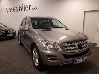 brugt Mercedes ML350 3,0 CDi aut. 4-M