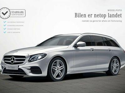 gebraucht Mercedes E220 2,0 AMG Line stc. aut.